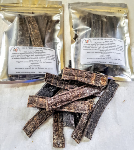 Pure Venison Meat Strips